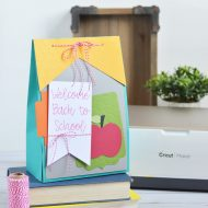 Back to School Teacher Gift Bag with Cricut