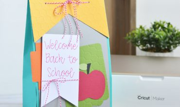 Back to School Teacher Gift Bag with Cricut