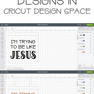 How to Slice Designs in Cricut Design Space
