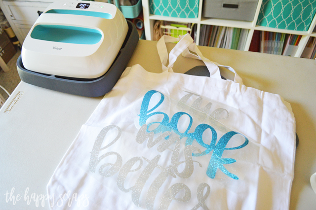 Book lovers would agree that The Book Was Better, right? It's the perfect saying for a library tote! Tutorial for creating your own tote is on the blog.