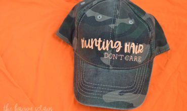 Hunting Hair Don't Care Girls Hunting Hat