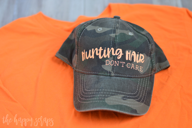 I can't wait to go out hunting and wear my new Hunting Hair Don't Care Girls Hunting Hat. It's perfect for the outdoors when you don't want to do your hair!