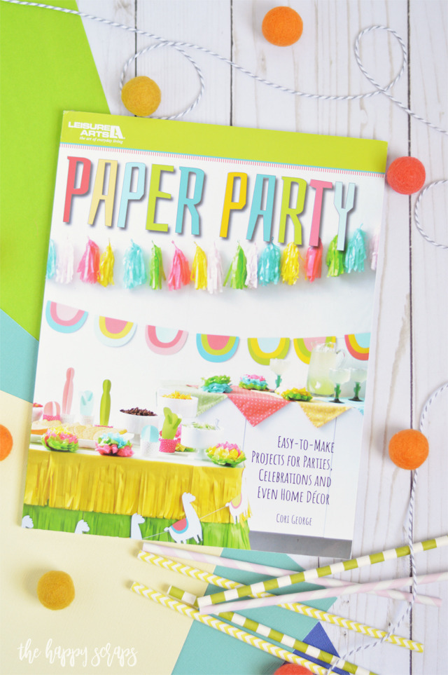 Learn to Create Fun Parties with Paper Party. This new book will have you putting fun parties together in no time! Get your copy today!