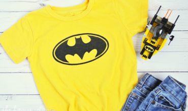 DIY Toddler Batman Shirt