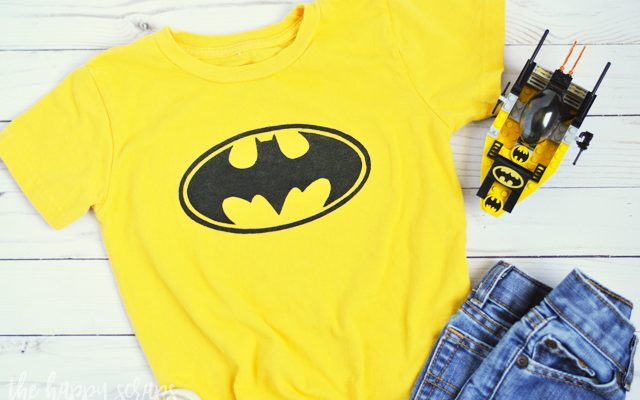 DIY Toddler Batman Shirt