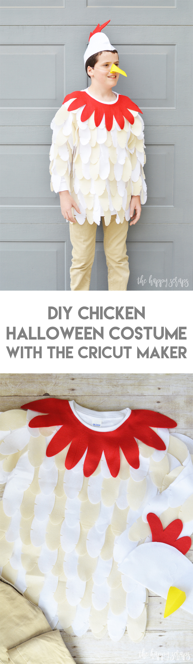 Create these DIY Farmer and Animal Halloween Costumes with the Cricut Maker along with this tutorial that I'm sharing! They are no-sew and fun to make!