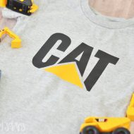 DIY Toddler CAT Shirt