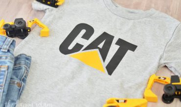 DIY Toddler CAT Shirt