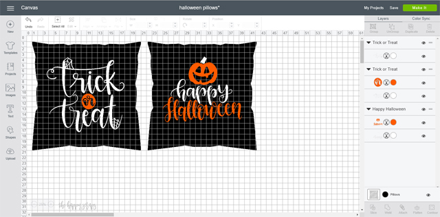 These DIY Halloween Throw Pillows are the perfect addition to your home for Halloween! The silver, orange, and black are the perfect combination!
