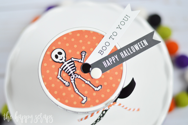 Creating this DIY Halloween Treat Gift Box is a fun and easy project that you'll enjoy putting together. It makes a great little treat to give to a friend!