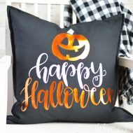DIY Halloween Throw Pillows