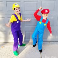 DIY Super Mario Brothers Costumes