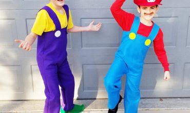 DIY Super Mario Brothers Costumes