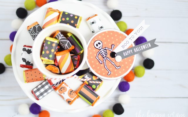 DIY Halloween Treat Gift Box