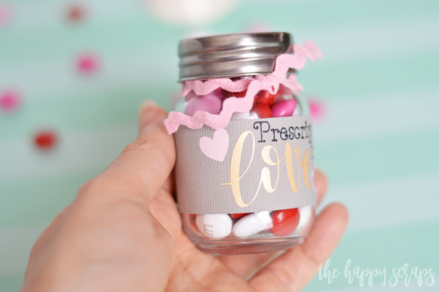 Creating this Valentine Prescription for Love Gift Idea is easy and a fun little gift for your significant other. All the details are on the blog.