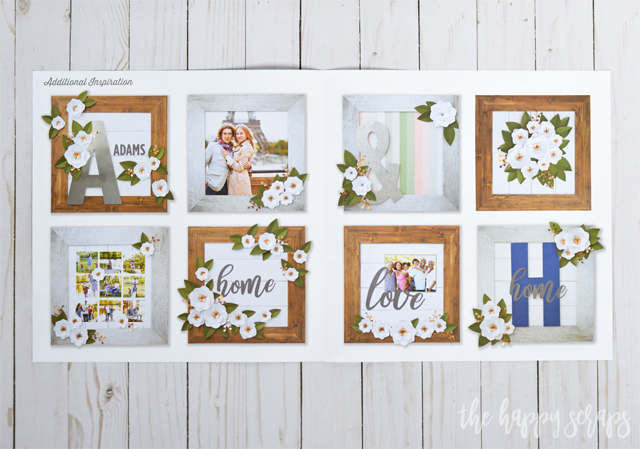 This Magnolia Frame Kit, only available during January, is the perfect afternoon project that is ready to be made! Everything you need is in the kit!