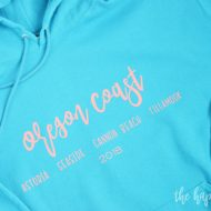 Oregon Coast DIY Sweatshirt