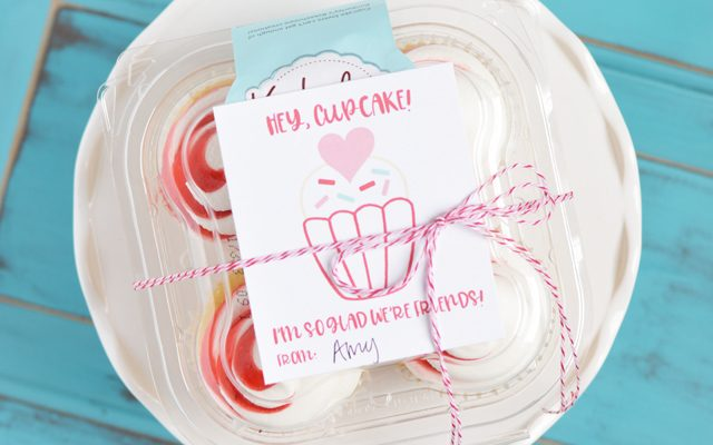 Hey Cupcake – Valentine Friend Gift