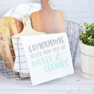 Grandmas Kitchen Towel – Mother's Day Gift Idea