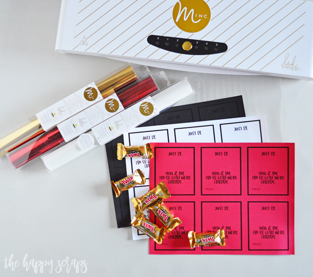 This Easy Classroom Valentine is so fun to put together! Adding the foil is just the right touch and goes so well with the Twix bar.