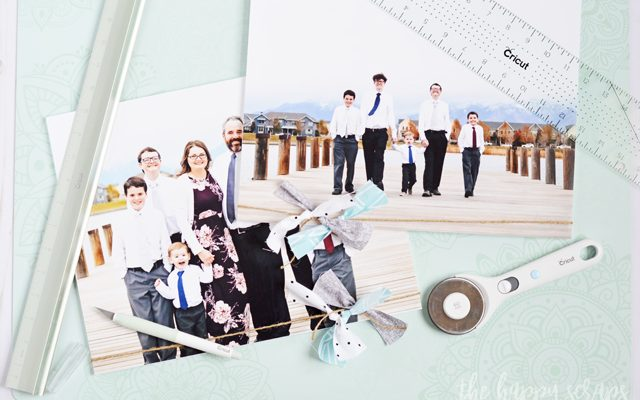Embellished Wall Photos with Cricut Crafting Tools