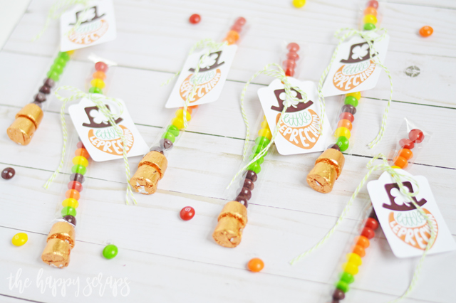 This Simple St. Patrick's Day Rainbow Treat with the little Leprechaun tag is perfect to put together for a last minute St. Patrick's Day Gift.