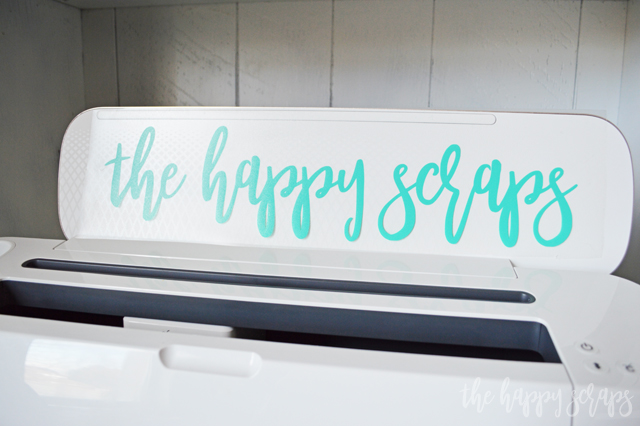 Learn How to Cut a Vinyl Decal with the Cricut. There are so many ways to use vinyl decals, this is one technique you're sure to use over and over!