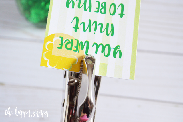 This St. Patrick's Day Treat Jar is a quick + easy project that the recipient will love! Get the printable tag on the blog.