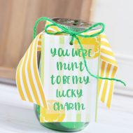 St. Patrick's Day Treat Jar