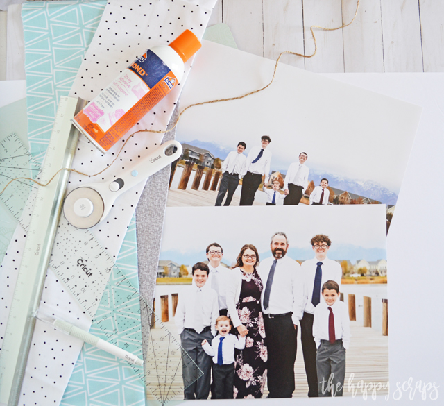 Creating these Embellished Wall Photos with Cricut Crafting Tools couldn't be easier! Mount your own photos (they look amazing) and embellish them.