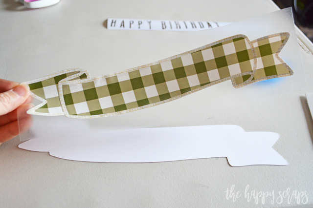 Creating a DIY Birthday Cake Topper doesn't have to be difficult and time consuming. Using your Cricut machine makes it a fun and simple project!