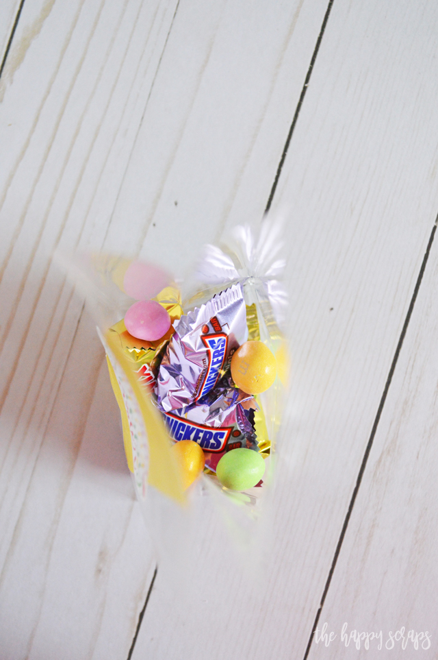 Put this cute Happy Easter Treat Bag together in no time with the Print then Cut feature on the Cricut. If you've never tried this, you NEED to!