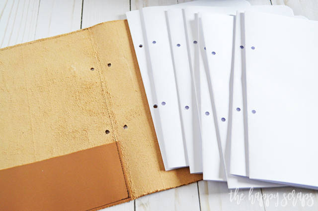 You'll love being able to create your own DIY Leather Notebook with Cricut Iron-on Decal. Use your own design, or Design Space design. Super fun project!