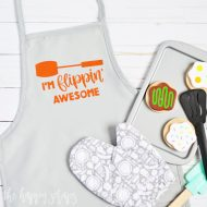 I'm Flippin' Awesome Kids Apron