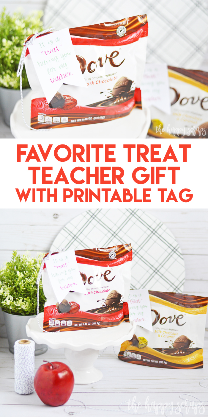These Teacher Gift Tags with Cricut Print then Cut make gift giving easy! Grab your supplies and you can have these put together in minutes.