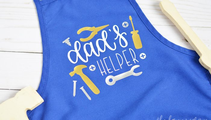 Dad's Helper Kids Tool Apron