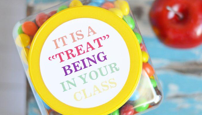 Teacher Gift Tags with Cricut Print then Cut