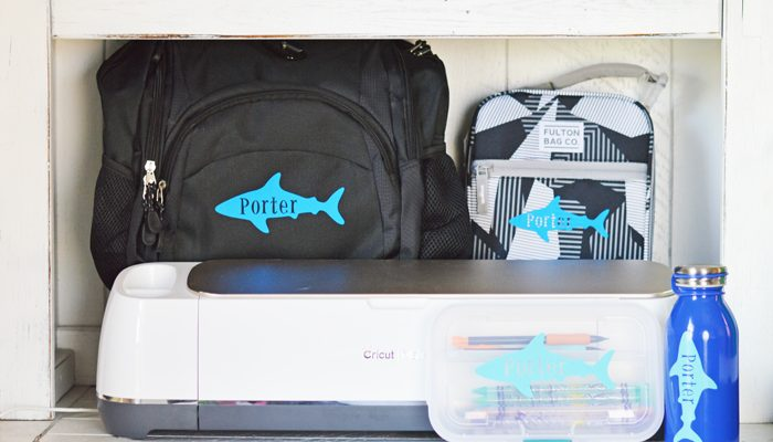 Back to School with the Cricut Maker