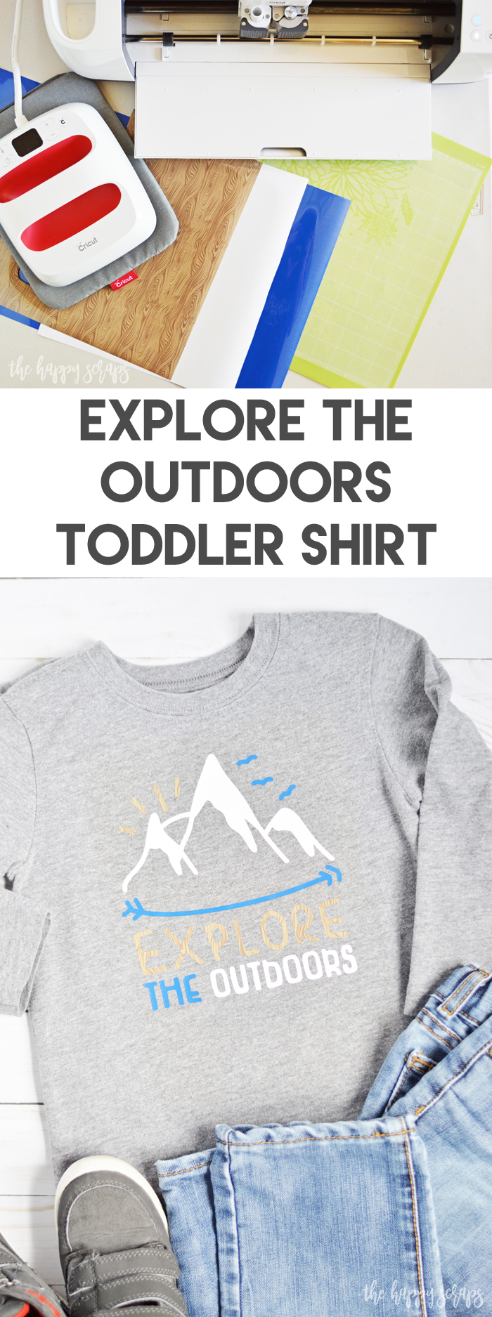 Isn't exploring what summer is all about? This Explore the Outdoors Toddler Shirt will be a favorite. Get the details for it on the blog.