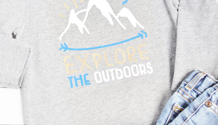Explore the Outdoors Toddler Shirt