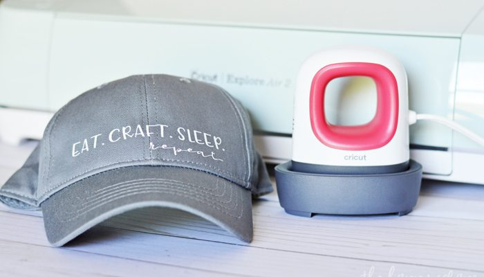 Quick & Easy Hat Decal with the Cricut + EasyPress Mini