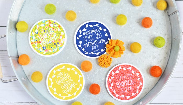 Cricut Infusible Ink Fall Tote & Coasters