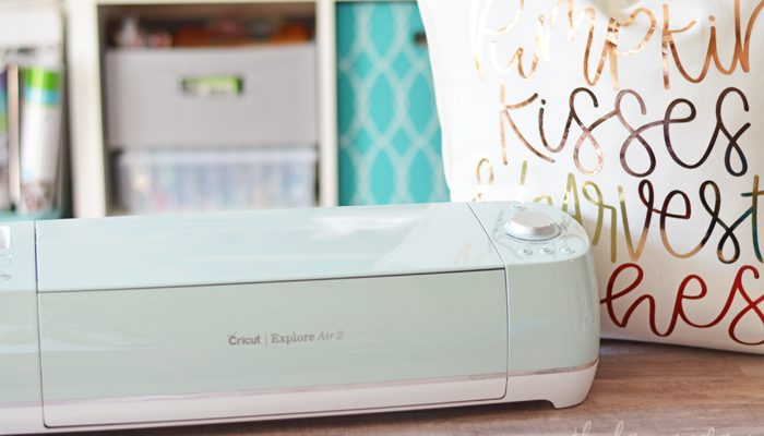 What I Love About the Cricut Explore Air 2 + Fall Harvest Pillow