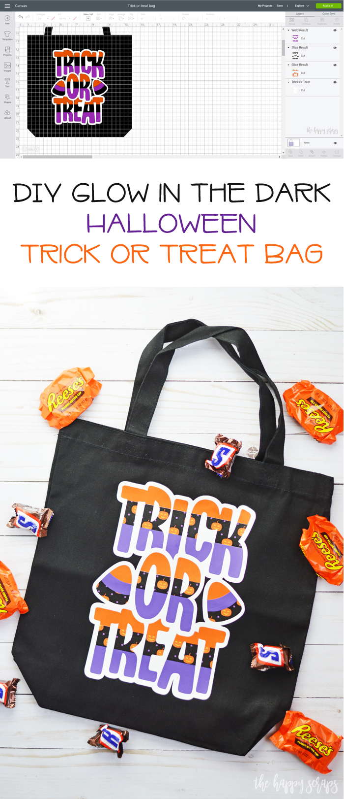 This Trick or Treat Bag is such a fun and easy project + everyone will love that it also glows in the dark! Get the tutorial on the blog.
