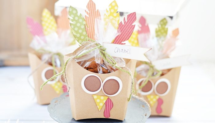 Fry Box Turkey – Thanksgiving Favor