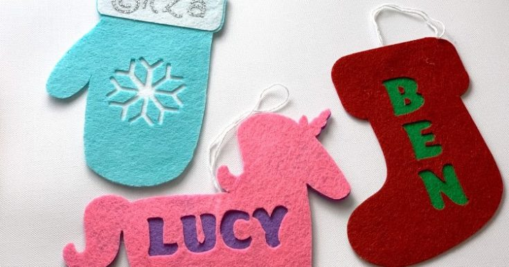 Personalized Ornaments with the Cricut Maker