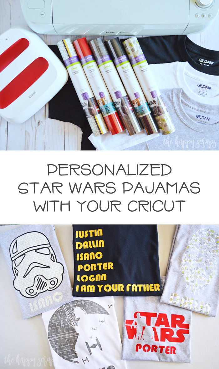 Creating Personalized Christmas Pajamas or other gifts is so easy when using the Cricut Explore Air 2. Find the details for these pajamas on the blog.