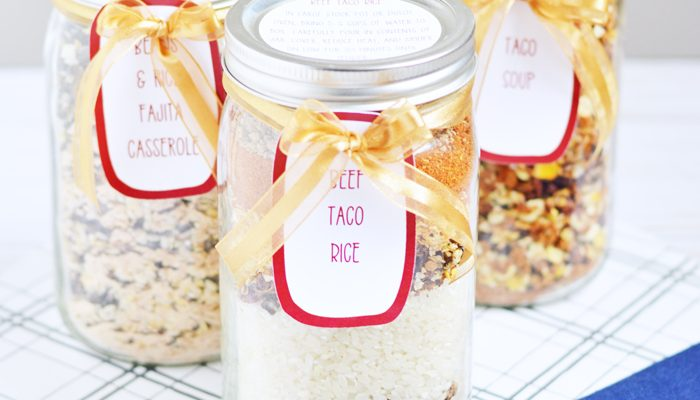 Meal in a Jar Printable Labels