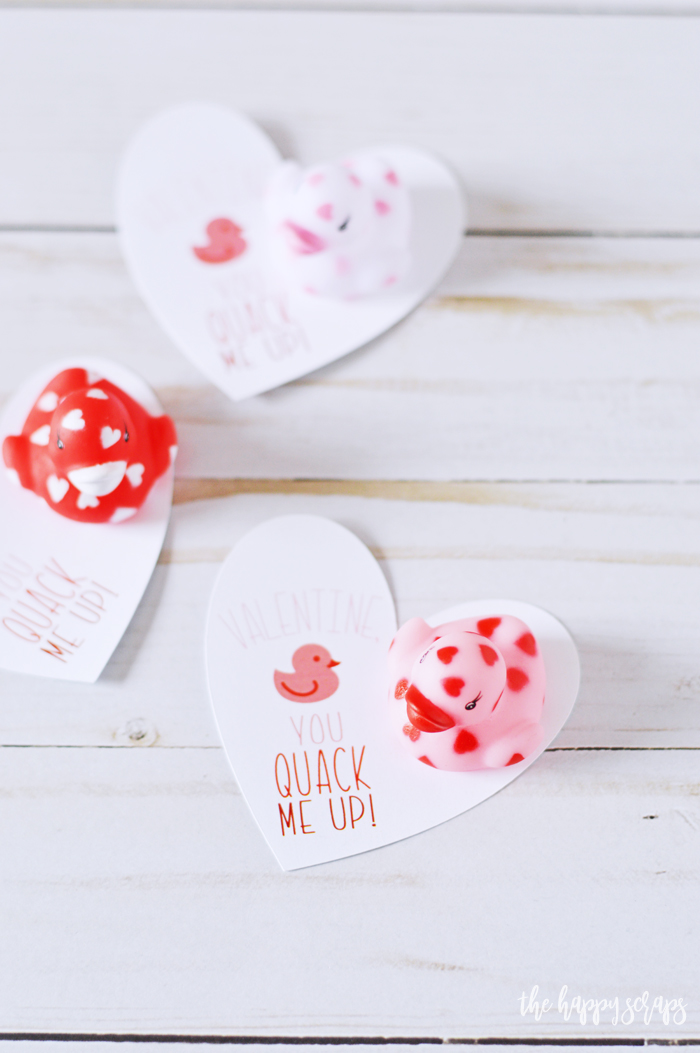 This Cricut Print then Cut Duck Valentine is perfect for a preschool classroom. Grab the prints on the blog and pair them with the cute love ducks!