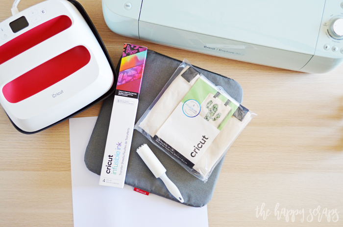 How to Use Cricut Infusible Ink - Supplies
